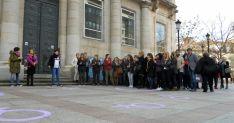 Concentración este 8 de marzo en la plaza de San Esteban./SN