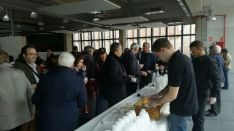 Inauguración Mercado de Abastos. /SN