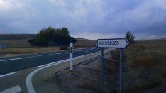 Entrada a Fuensaúco