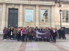 Manifestación por el Día Internacional de la Mujer.