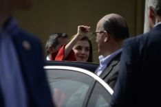 S. A. R. Doña Letizia saludando a los sorianos. /Patricia Lapresta