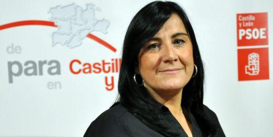La zamorana Ana Sánchez, del PSOE de Castilla y León. /PSOECyL