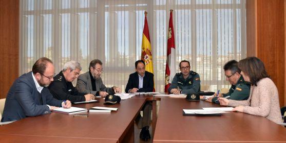 Reunión del Comité Territorial de Seguridad este jueves. /Jta.