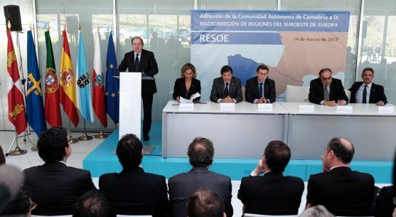 Herrera en su intervención este martes en Vigo. /Jta.