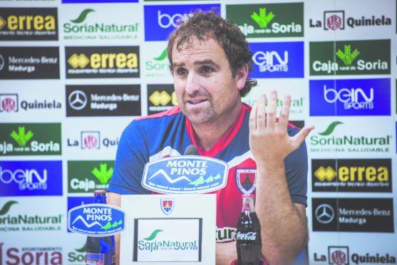 Jagoba Arrasate, entrenador del Numancia. /SN