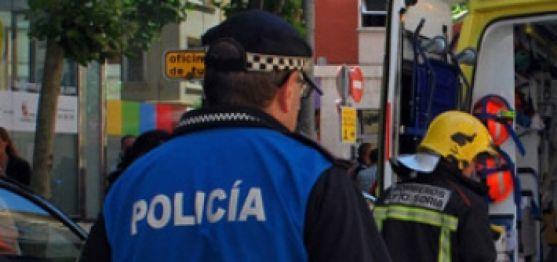 Un agente de la Policía Municipal de Soria. /SN