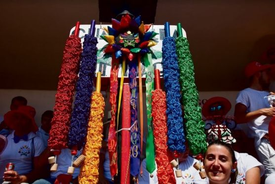 Cachirulo y banderillas de Santiago de las últimas fiestas.