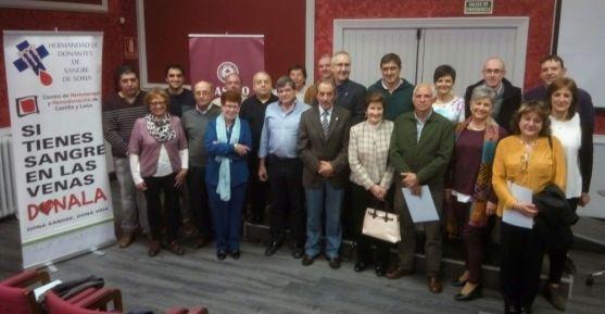 Imagen de la reunión/ HERMANDAD DE DONANTES DE SANGRE