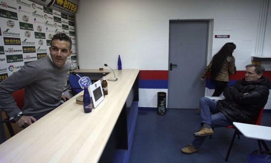 Álvarez, este miércoles en rueda de prensa./SN