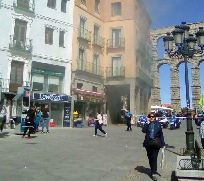 Imagen del incendio./SN