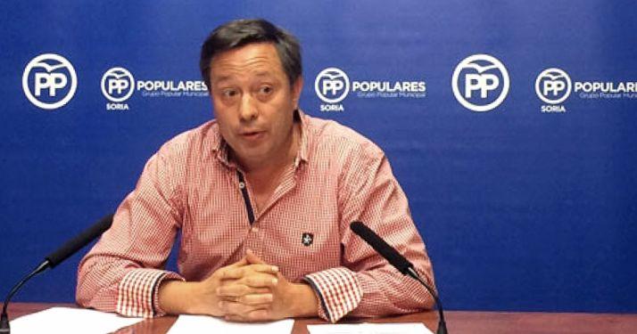 Adolfo Sainz, portavoz municipal del grupo Popular en el Ayuntamiento. /SN