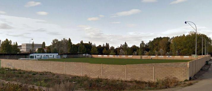 Campo de La Arquilla, en Ágreda./GM
