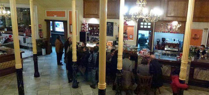 Imagen del bar del Casino./EligeSoria