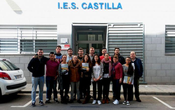 Alumnos del IES participantes en el programa. /Jta.