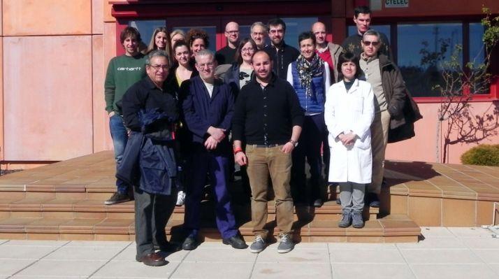 Técnicos participantes en las pruebas. /S. del G.