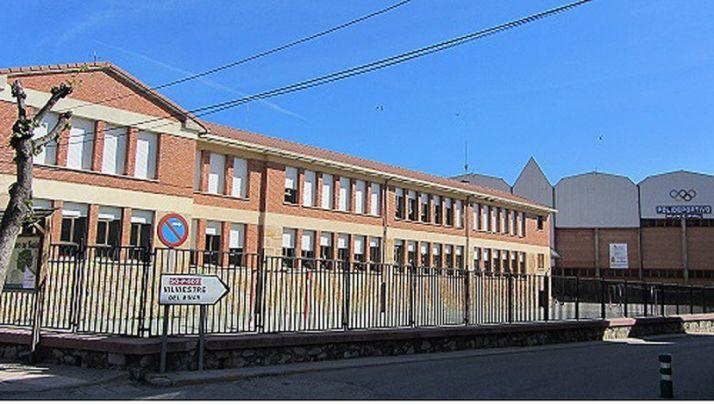 El CEIP de San Leonardo de Yagüe.