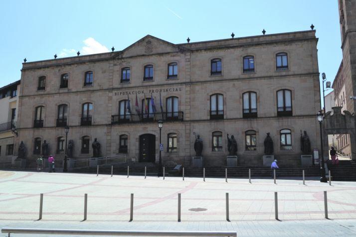 Fachada de la Diputación Provincial de Soria. /SN