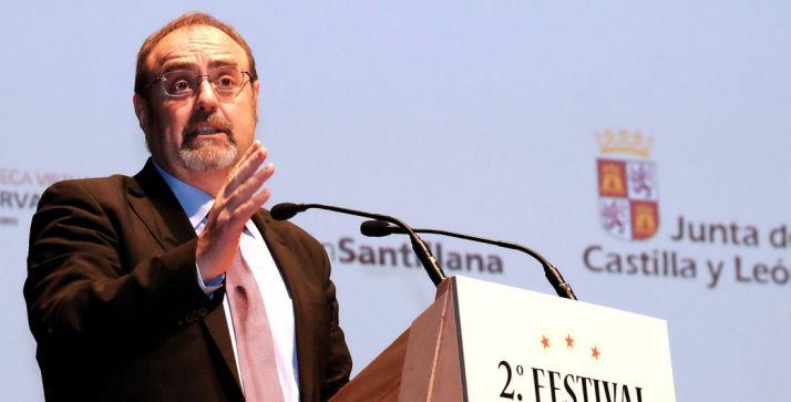 El consejero de Educación, Fernando Rey. /SN