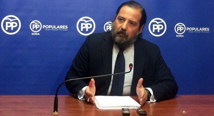 Hernando, concejal del PP capitalino.