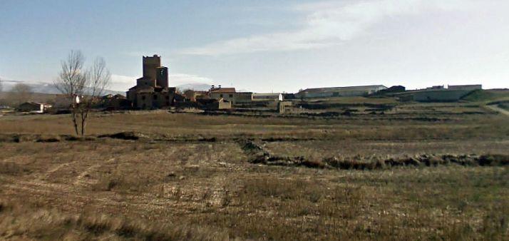 Terrenos de labor cerca de la localidad. /SN