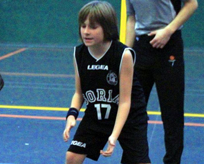 El joven jugador del CSB.