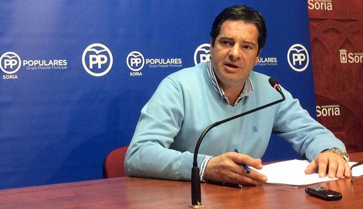 Martín, concejal del PP.