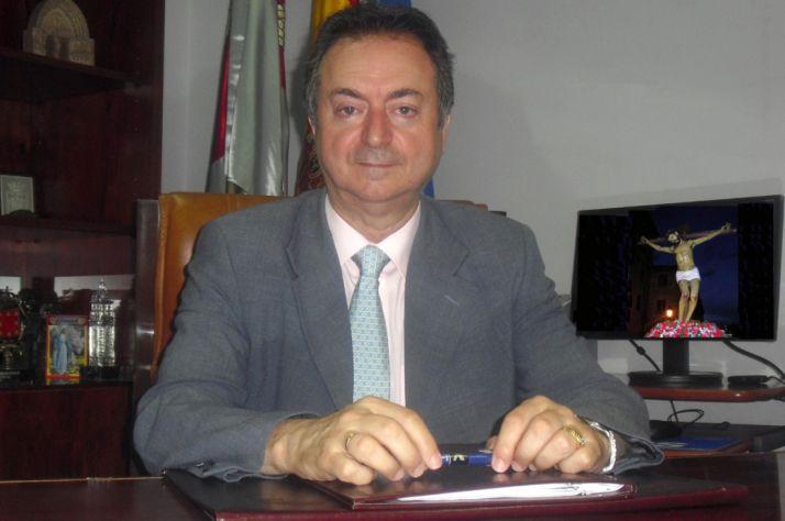 Jesús Alonso, alcalde burgense.