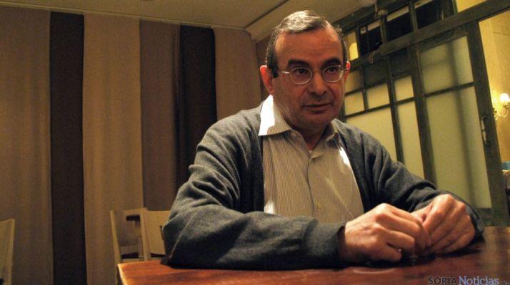 Jesíus de Lózar, concejal de C's en el Ayuntamiento de Soria./SN