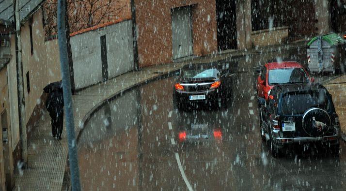 Una calle del Calaverón este miércoles./SN