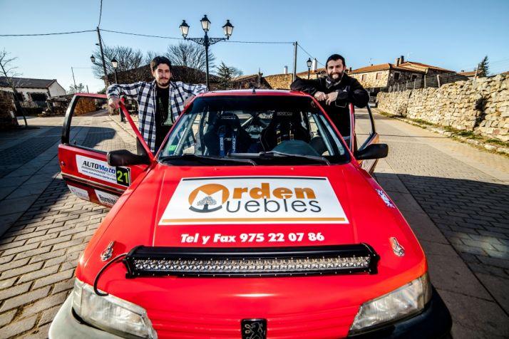 Víctor y Luis Cano, dos campeones del automovilismo soriano. /David Almajano
