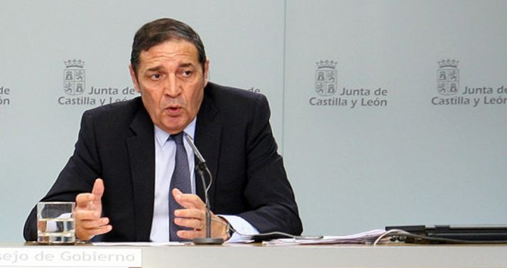 Antonio M. Saez Aguado, consejero de Sanidad este jueves. /Jta.
