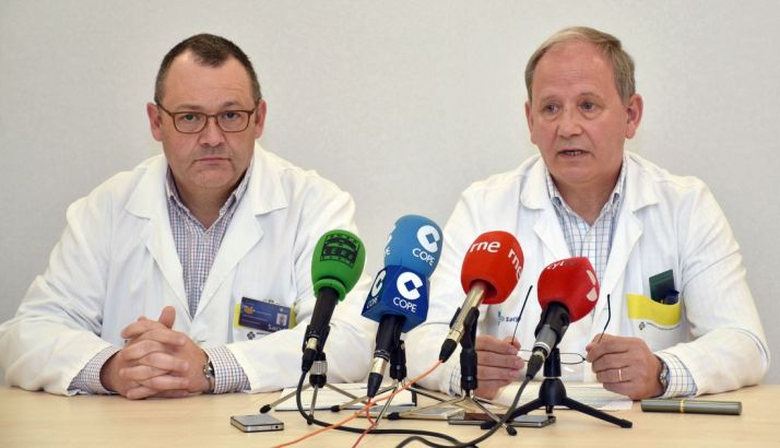 Los doctores Jon Gastelu-Iturri y Luis Lapuerta