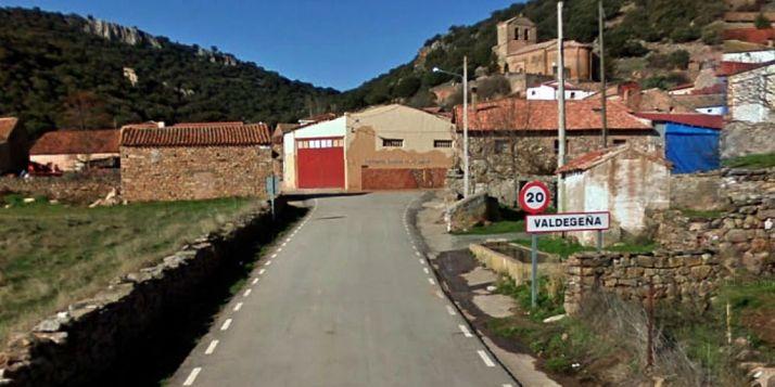Imagen de la entrada a Valdegeña./GM