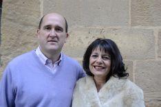 El Rosel, Silvia Bernal y Marcos Martínez. /Patricia Lapresta