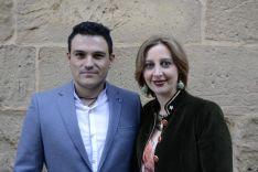 San Miguel, Mireia Gómez y Gonzalo Encabo. /Patricia Lapresta