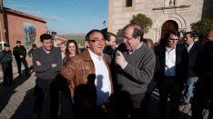 Herrera en Villalar de los Comuneros. /Junta.
