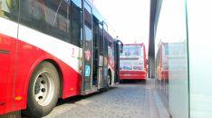 Autobuses urbanos en la capital soriana./SN