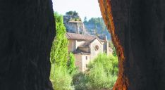 Ermita de San Bartolomén, en el Cañón del Lobos./SN