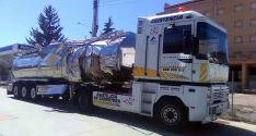 La cisterna en un vehículo de asistencia./SN