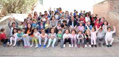 Los niños participantes en el programa./Jta.