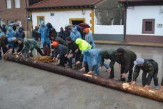 Pingadas de los mayos en Pinares