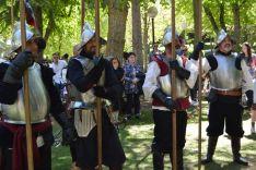 Recreación histórica de 'Oria Dauria' en el Día de Castilla y León. /SN
