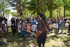 Recreaciones históricas con la asociación 'Oria Dauria' para celebrar el Dia de Castilla y León. /SN