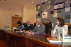 Presentación de libros en la Diputación