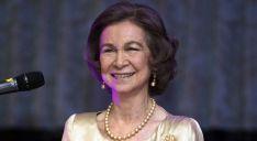 Doña Sofía llega a CyL este lunes./Casa Real - EFE