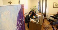 Vicente (izda.), Rodríguez y López en la presentación este martes. /SN