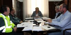 Mesa de trabajo sobre seguridad en la Subdelegación./S. de G.