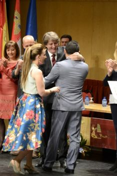 Momentos del acto. /Patricia Lapresta