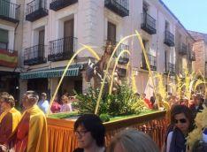 Procesión de la Borriquilla en El Burgo.
