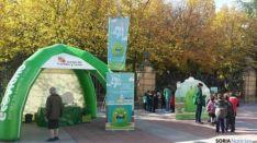 Imagen de una de las campañas de Ecovidrio en Soria/ SN